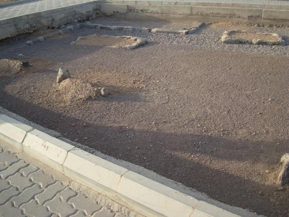 DSC00082   Fuad Yusufoğlu İmâm-i Nafi (Radiayallahu anhu) nın mübarek kabirleri (Cennet-ül Baki' mezarlığı) İmâm-i Mâlik (r.a.) hemen yanında)