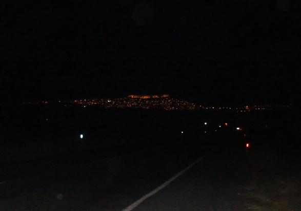 DSC04912   Fuad Yusufoğlu Mardin şehrinin gece (Uzaktan) görünüşü